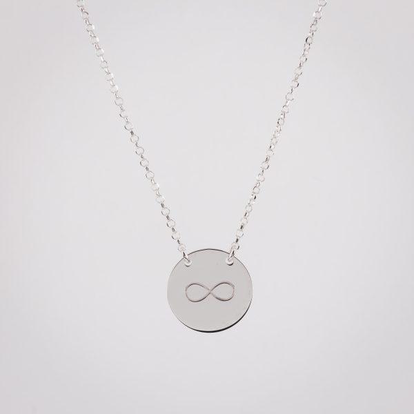 Ogrlica Infinity Circle