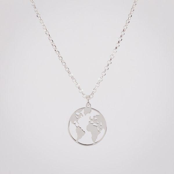 Ogrlica Globetrotter's Silver